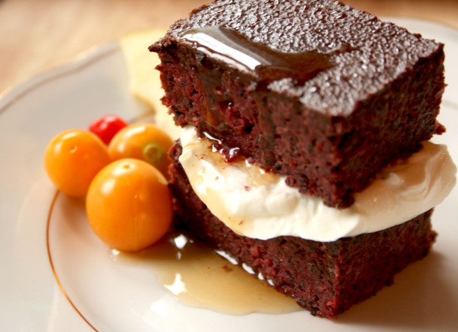 Bloody Beetroot Brownie Love