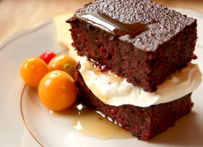 Bloody Beetroot Brownie Love