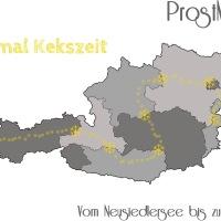 Neunmal Kekszeit – Vom Neusiedlersee bis zum Bodensee