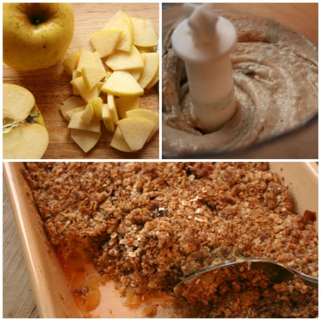 Collage Apple Crumble