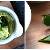Herzhafte Bärlauch-Ofenkartoffel mit Spinat, Kidneybohnen und cremiger Guacamole