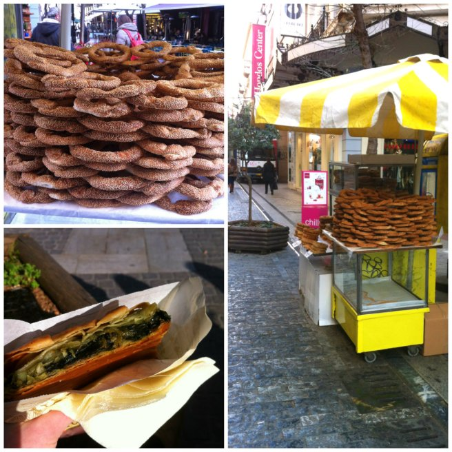 spanakopita, kouloures, Athen, Greek Food, SimplyAngi, ProstMahlzeit